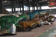 Usine de maquettes de dinosaures, Zingzong ©Yves Girault 2018