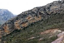 Utrillas Formation la Cerrada, Molinos, Maestrazgo Geopark ©Yves Girault