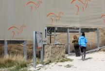 Yacimiento de icnitas de dinosaurio (dinosaurian ichnites) Las Cerradicas, en Galve, Maestrazgo Unesco Global Geopark