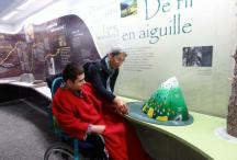 Espace muséographique du plan d'Aste, site labellisé Tourisme et handicap, val d'Azun ©L.Jouve - Parc national des Pyrénées
