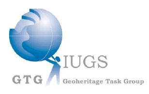 Fig 1. Logo du « Geoheritage Task Group » de l'IUGS.