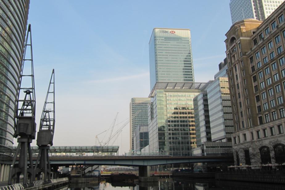 7 - Le patrimoine industriel du quartier de Canary Wharf (Londres, Angleterre), 2012, ©Fabien Van Geert