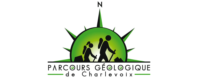 Parcours géologie de Charlevoix logo ©Jean-Michel Gastonguay