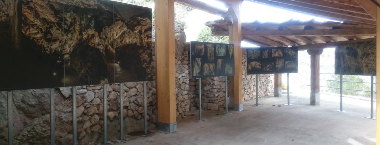 accueil de la Grutas de Cristal, parc culturel du Maestrazgo, ©Geopark-H2020