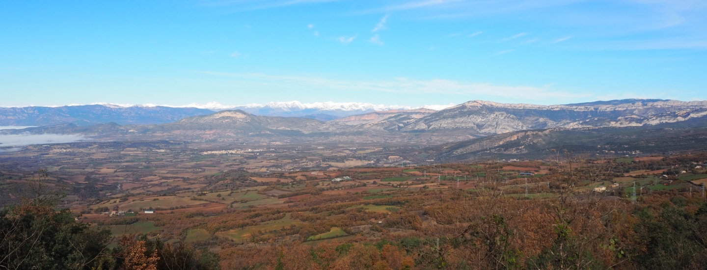 Paysage du Géoparc de Conca de Tremp-Montsec ©Geopark-H2020