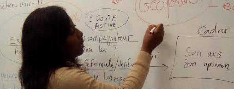 Yanique Ekobevet Allogo, doctorante en Sciences de l'éducation ©Yanique Ekobevet Allogo