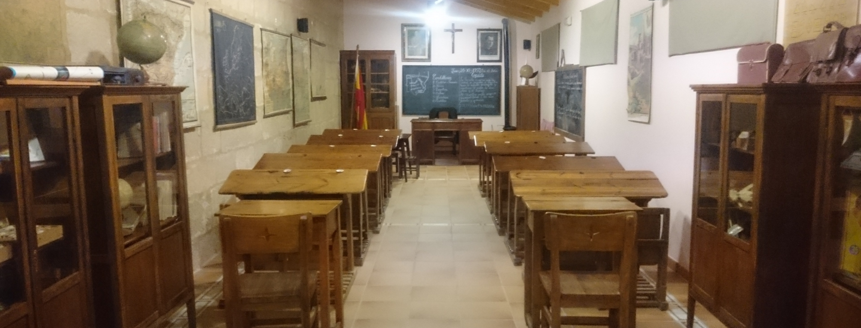 Museo pedagogico de la escuela rural, Alcorisa, parc culturel du Maestrazgo ©Geopark-H2020