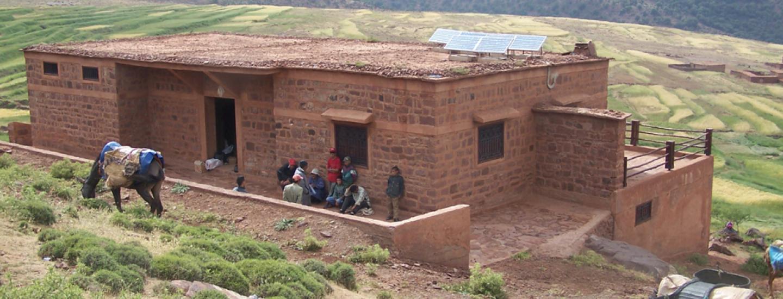 Gite touristique: Association AZAT, Plateau du Yagour, Vallée du Zat. © SAÏD BOUJROUF, 06/2006